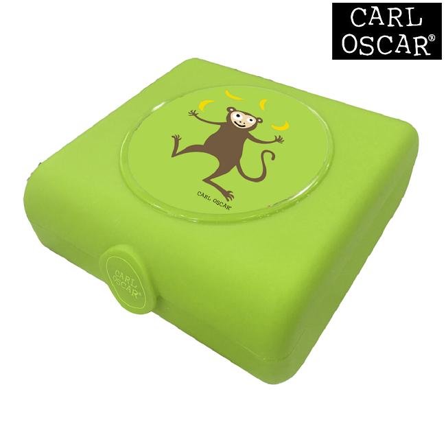 Võileivakarp Carl Oscar Sandwich Box Lime Monkey