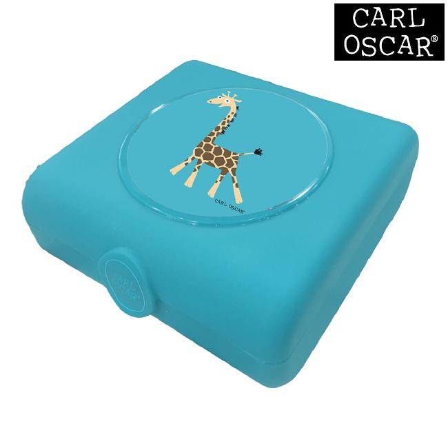 Võileivakarp Carl Oscar Sandwich Box Blue Giraffe