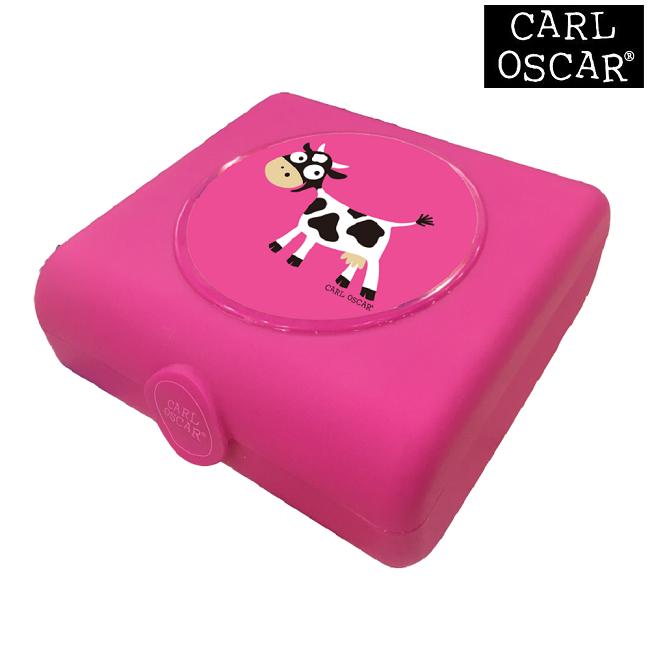 Võileivakarp Carl Oscar Sandwich Box Pink Cow roosa