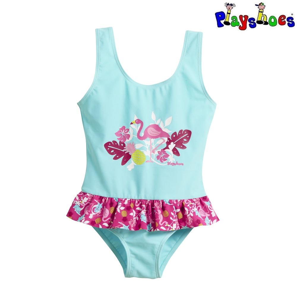Tüdrukute trikoo Playshoes Flamingo