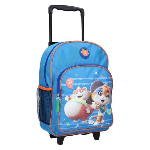 Liten resväska barn Cats 44 blå