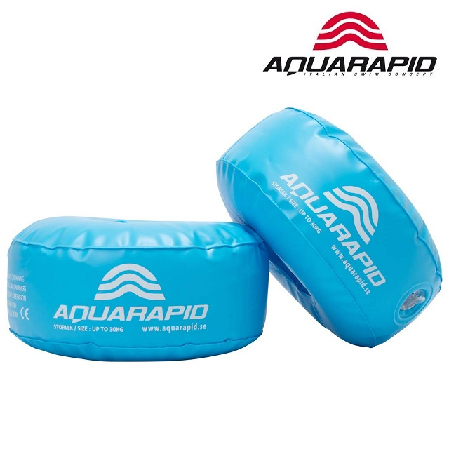 Ujumiskätised Aquarapid Aquarings Crystal Blue