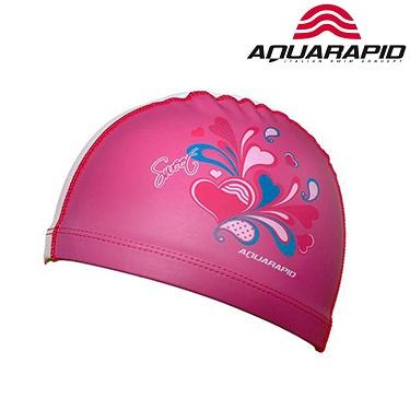 Laste ujumismüts Aquarapid roosa