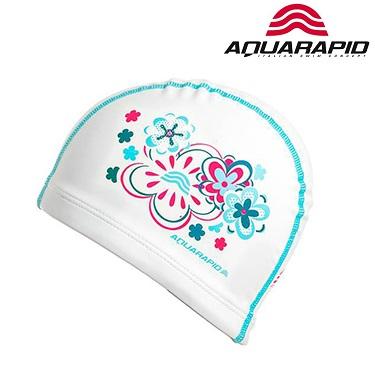 Laste ujumismüts Aquarapid valge