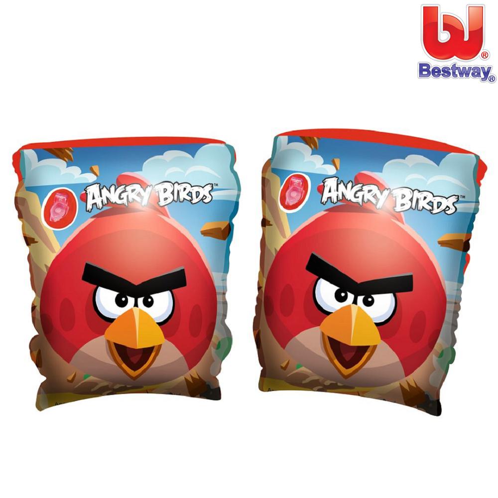 Ujumiskätised Bestway Angry Birds
