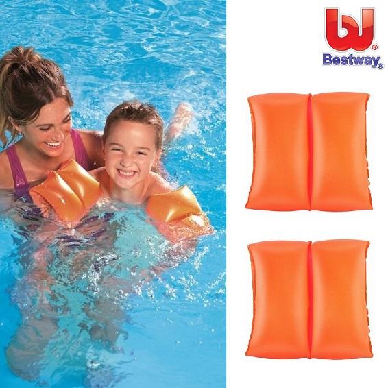 Ujumiskätised Bestway Oranz