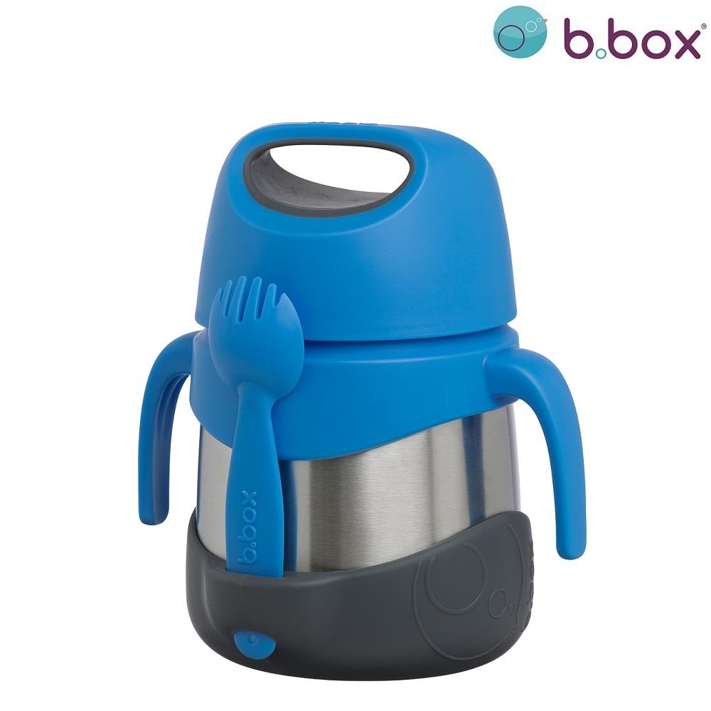 Toidutermos lusikaga B.box Blue Slate