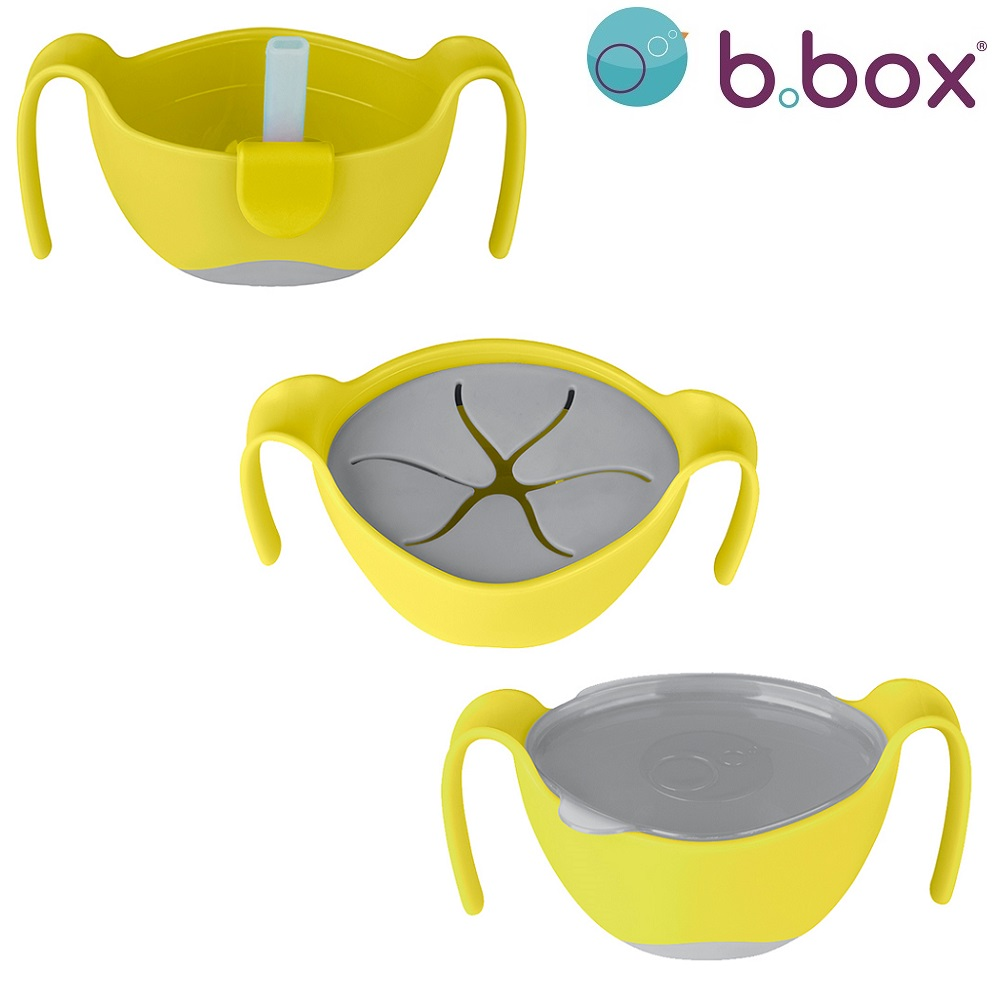 Laste Kauss ja Toidukarp B.box Lemon Sherbet