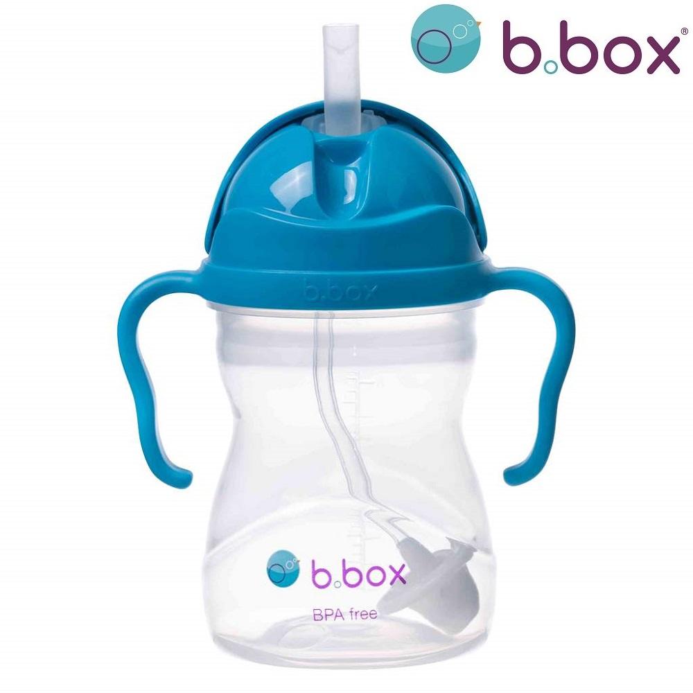 Laste kõrrega joogipudel Bbox Sippy Cup Cobolt sinine