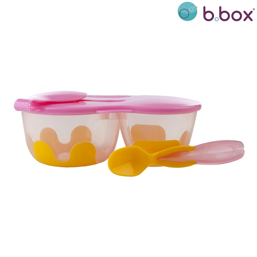 Toidukarp B.box Snack Pack Pinkilily