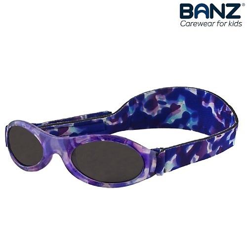 Laste päikeseprillid BabyBanz Purple Tortoise