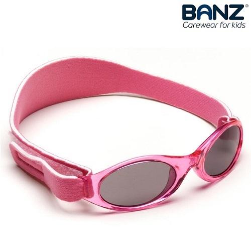Laste päikeseprillid BabyBanz Pink