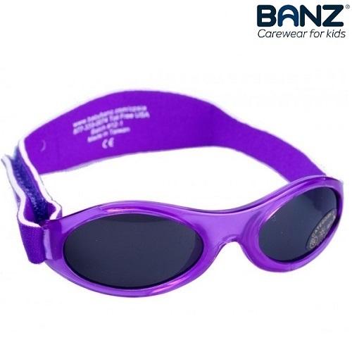 Laste päikeseprillid BabyBanz Purple