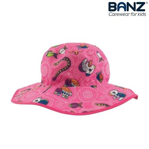Laste UV-kaitsega päikesemüts Banz Roosa