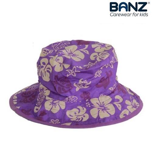 Laste UV-kaitsega päikesemüts Banz Lilla