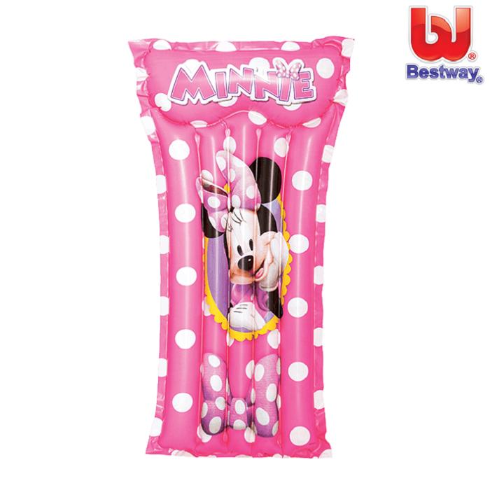 Ujumismadrats täispuhutav Bestway Minnie Mouse