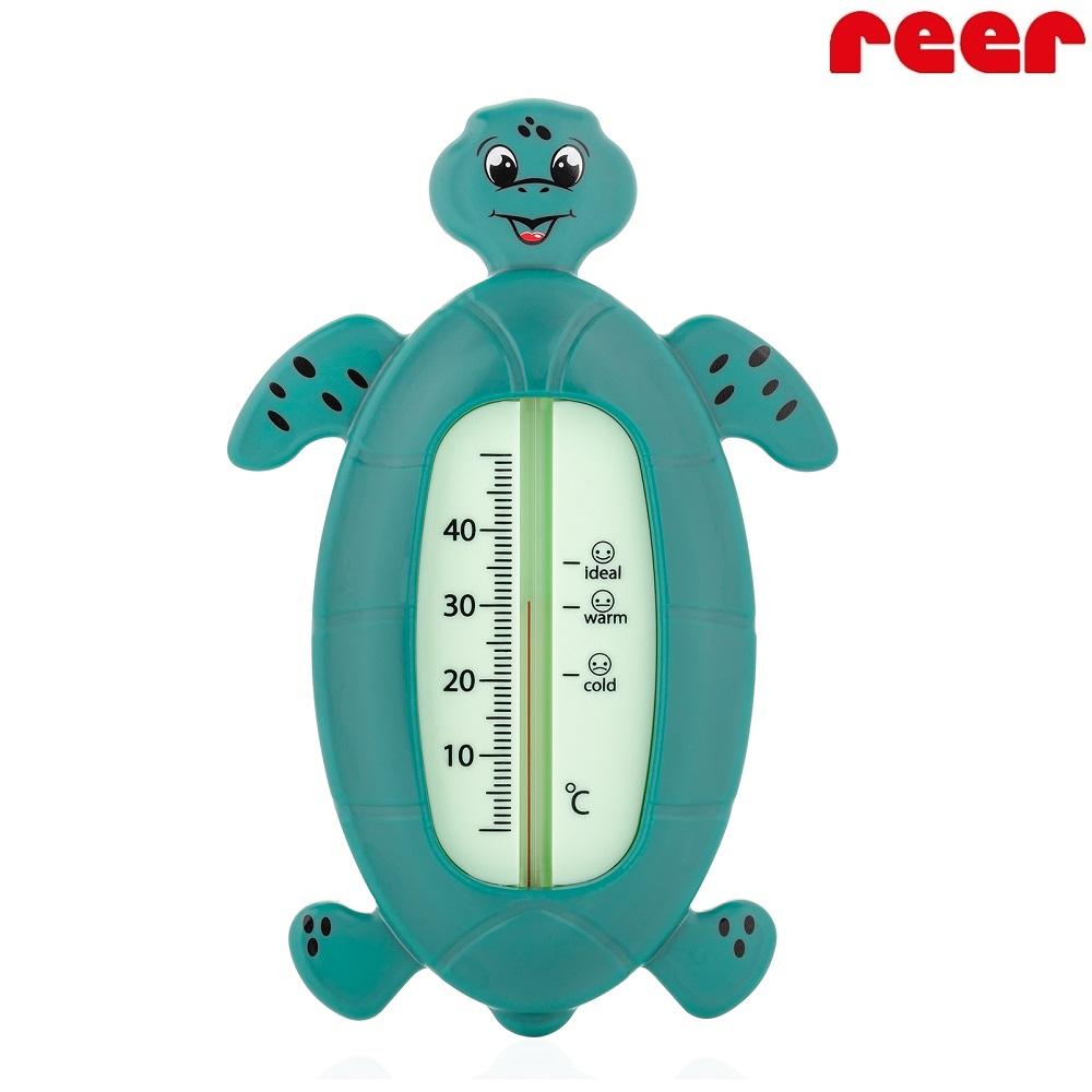 Badtermometer Baby Reer Sköldpadda grön