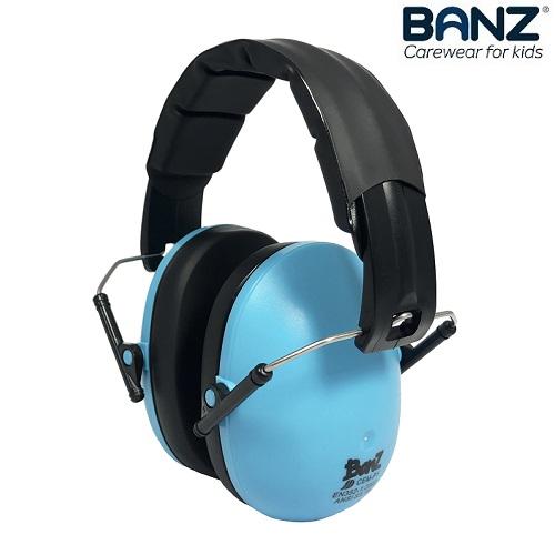 Laste kaitsvad kõrvaklapid Banz Bubzee Blue