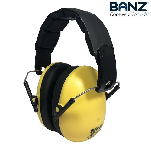 Laste kaitsvad kõrvaklapid Banz Bubzee Gold