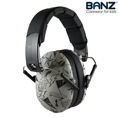 Hörselkåpor barn Banz Kidz Graffiti