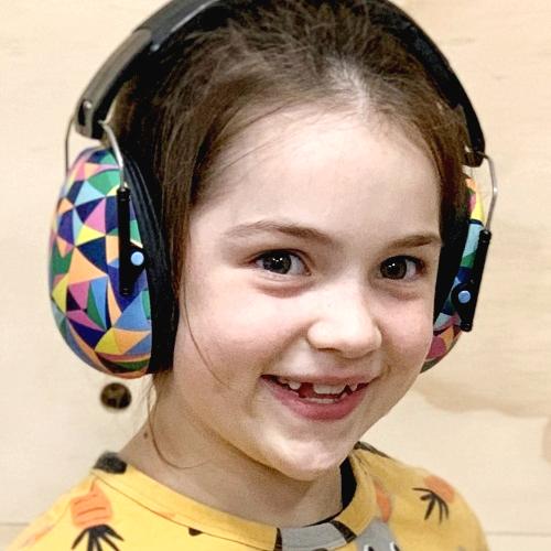 Hörselkåpor barn Banz Kidz Kaleidoscope