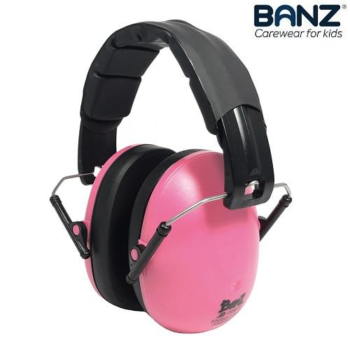 Laste kaitsvad kõrvaklapid Banz Bubzee Roosa