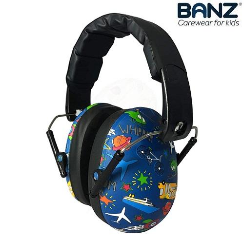Laste kaitsvad kõrvaklapid Banz Bubzee Traffic