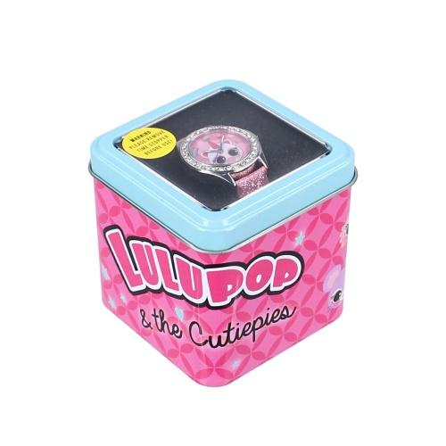 Laste käekell Lulupop and the Cutiepies roosa