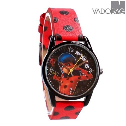 Laste käekell Miracolous Super Hero Ladybug punane