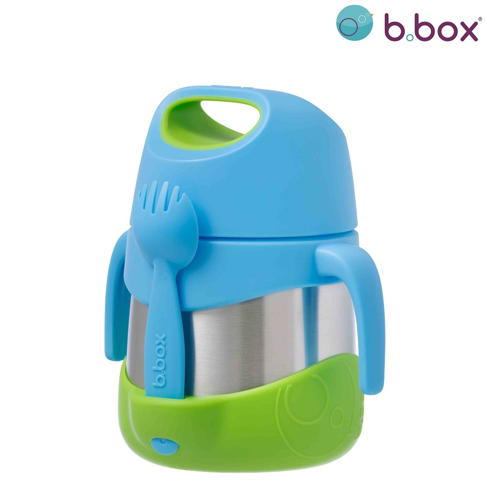 Toidutermos lusikaga B.box insulated Food Jar Ocean Breeze