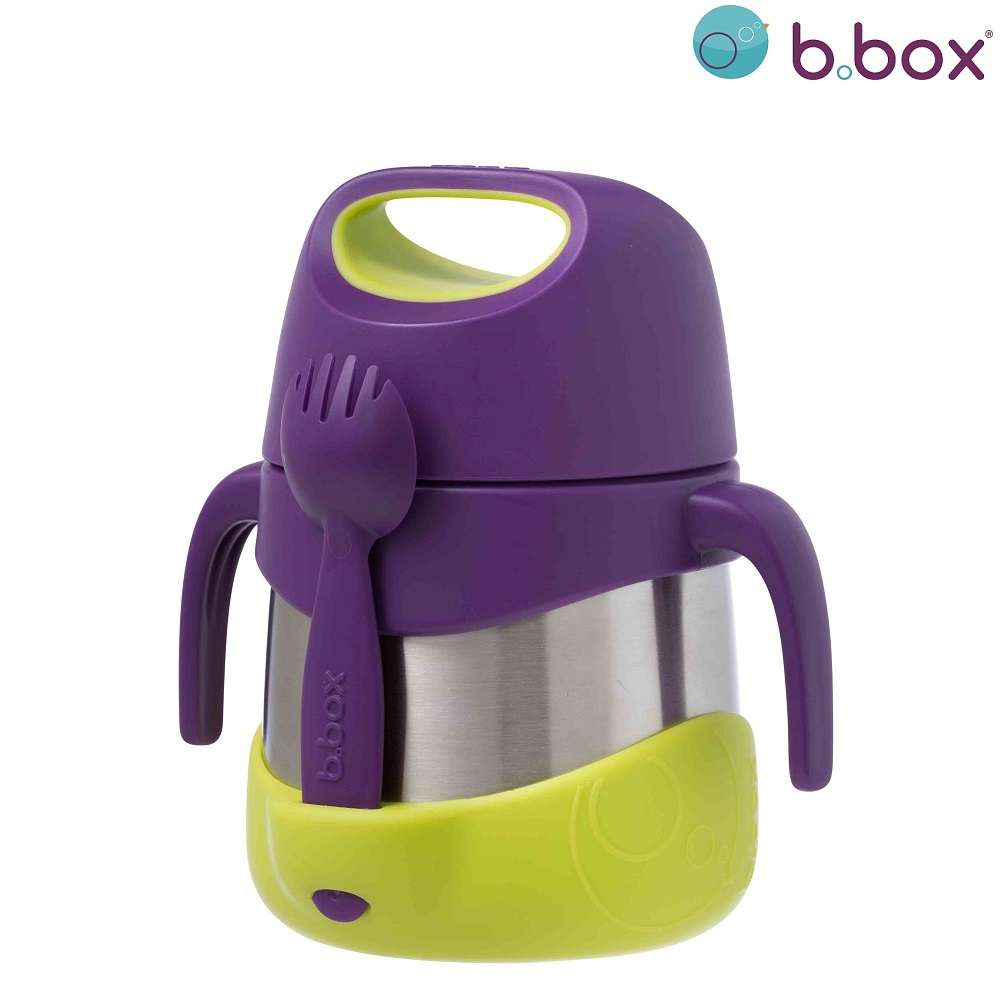 Toidutermos lusikaga B.box insulated Food Jar Passion Splash