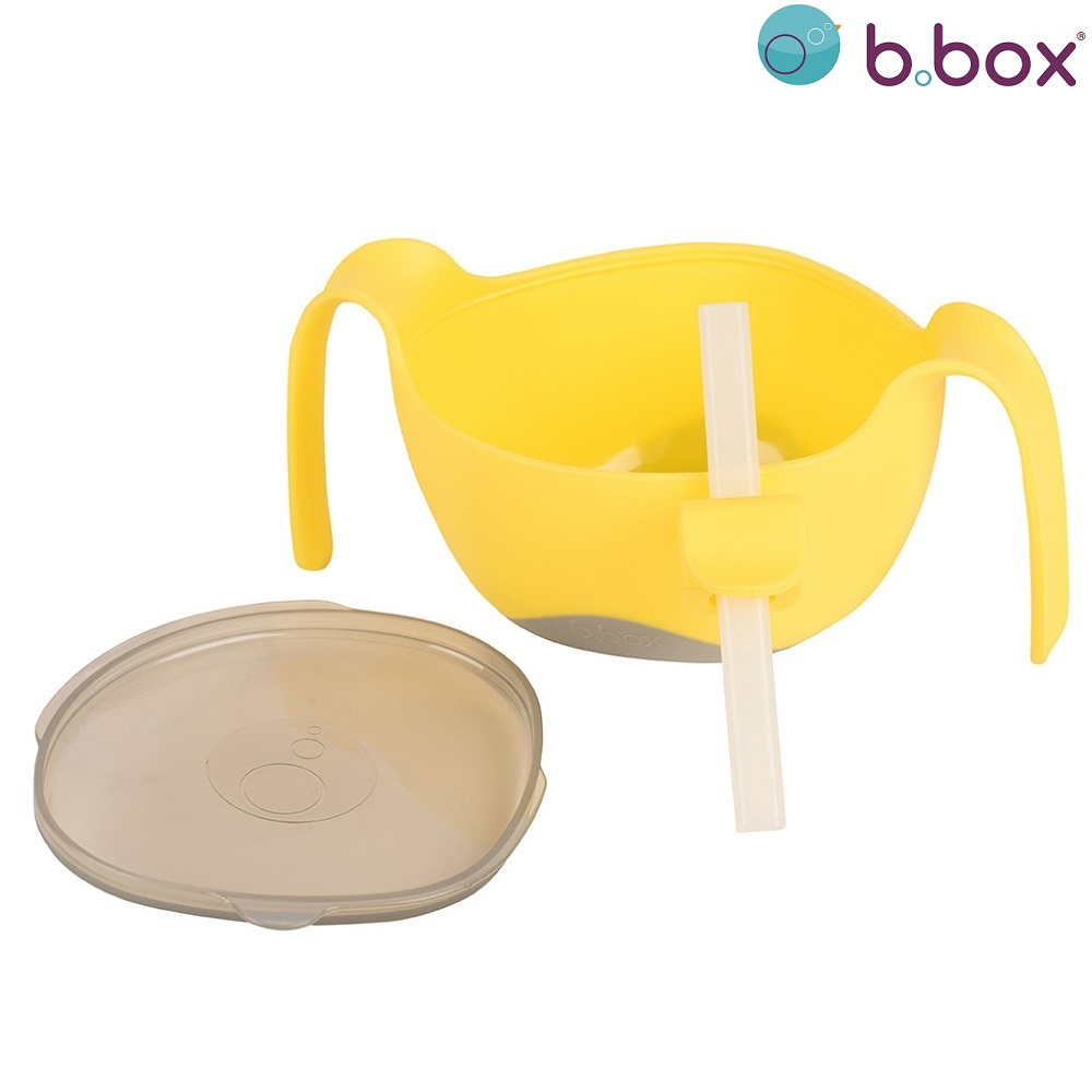 B.box Bowl and Straw XL
