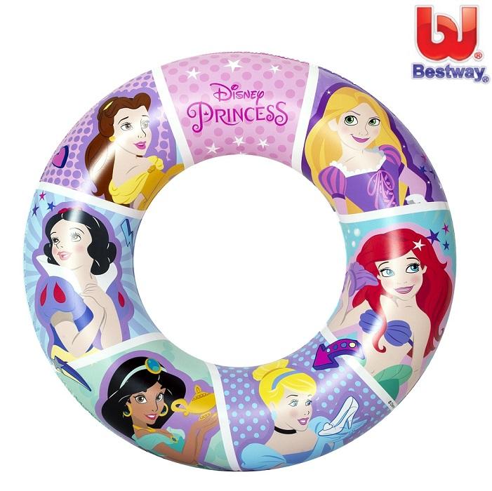 Ujumisrõngas Disney Princesses roosa