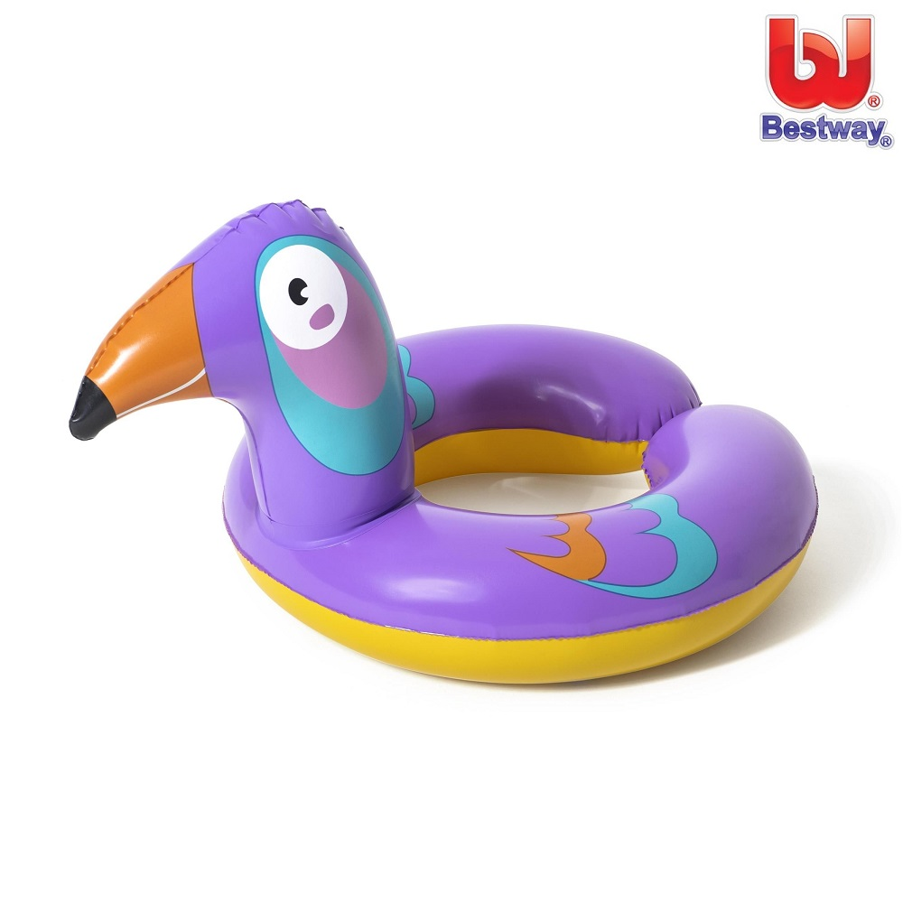 Ujumisrõngas Bestway Safari Animals Lind 3-6 a.