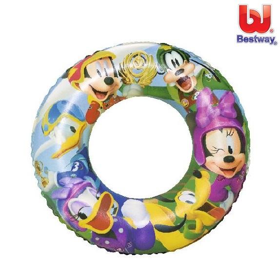 Ujumisrõngas Bestway Mickey Mouse