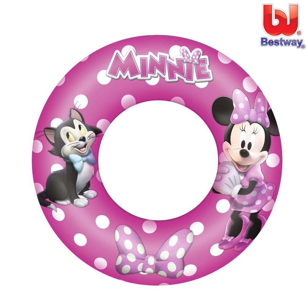 Ujumisrõngas Bestway Minnie Mouse