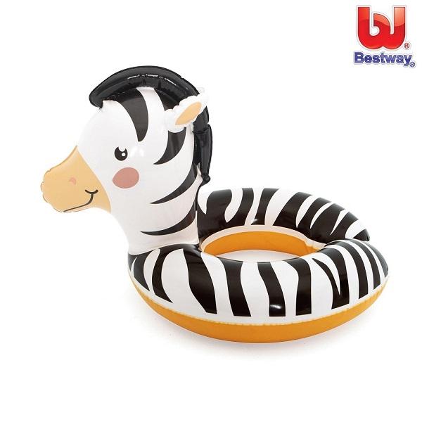 Ujumisrõngas Bestway Safari Animals Sebra 3-6 a.