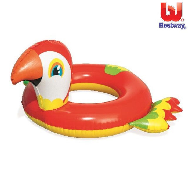 Ujumisrõngas Bestway Punane Papagoi
