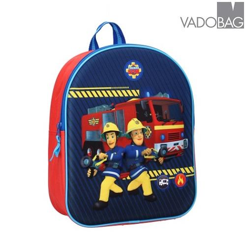 Laste seljakott Fireman Sam Fire 3D