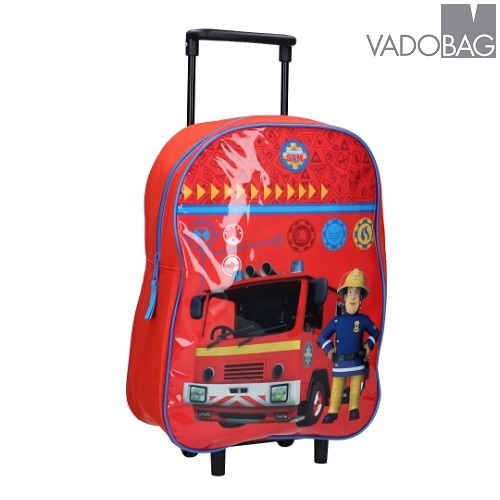 Laste kohver Vadobag Fireman Sam Punane