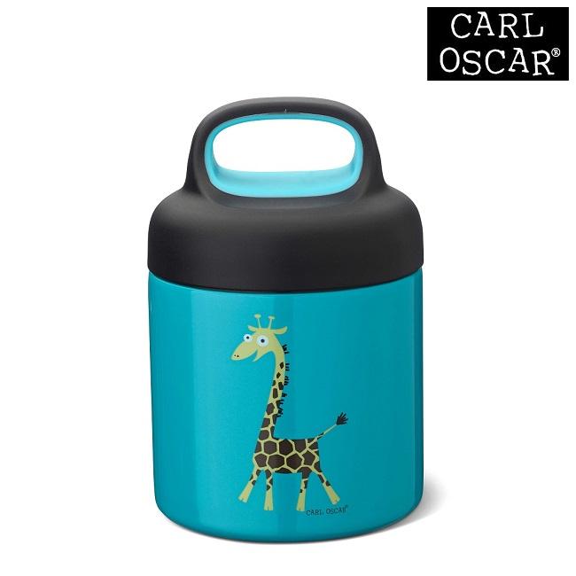 Toidutermos Carl Oscar TEMP Foodjar Blue Giraffe Sinine