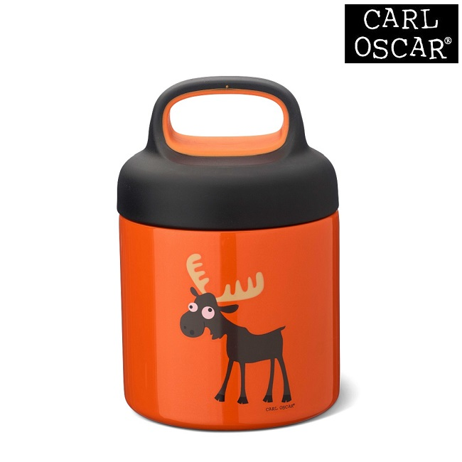 Toidutermos Carl Oscar TEMP Foodjar Orange Moose