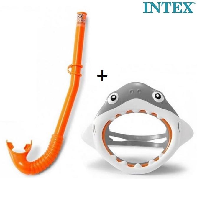 Laste ujumismask ja toru Intex Hai