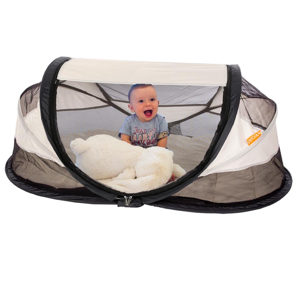 Reisivoodi Deryan Baby Luxe Hõbedane