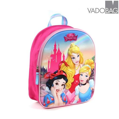 Ryggsäck barn Disney princessor 3D rosa
