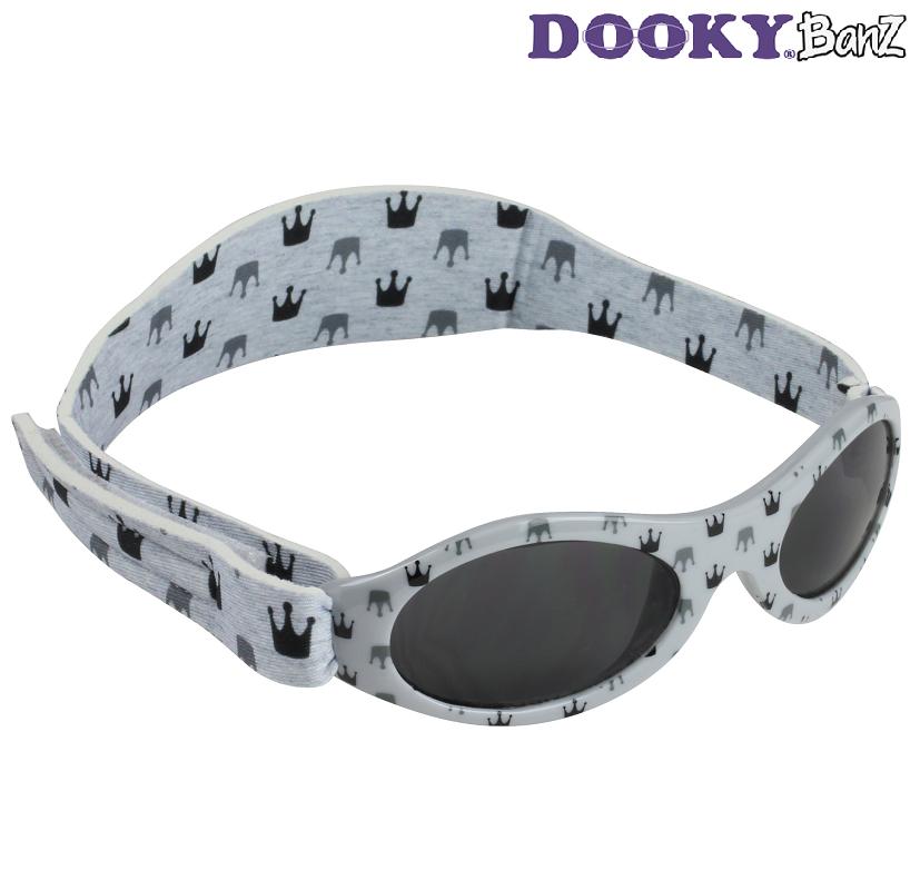 Laste päikeseprillid DookyBanz Grey Crowns