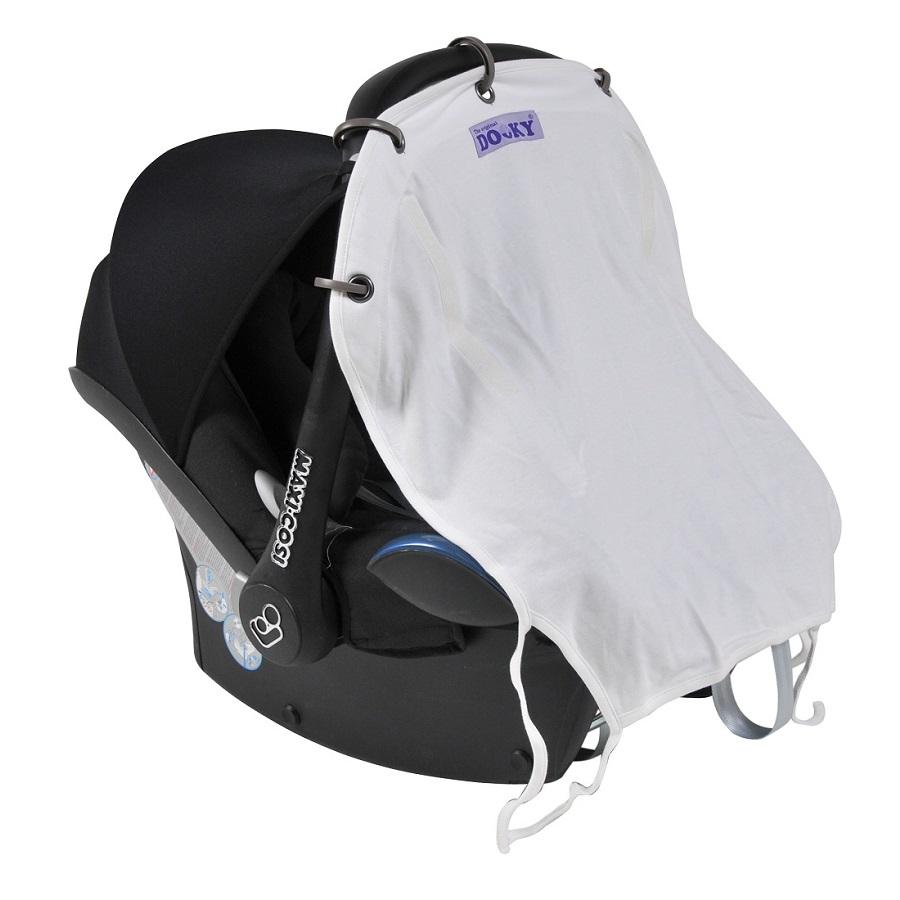 Solskydd barnvagn Dooky Cream