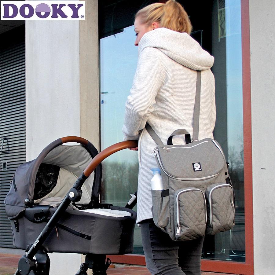 Dooky Beebitarvete Kott - Diaper Backpack 2:1