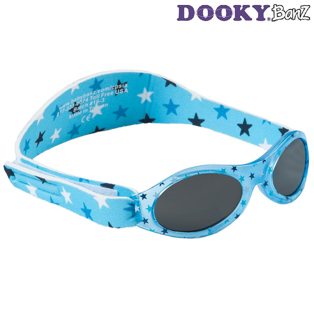 Laste päikeseprillid DookyBanz Blue Stars