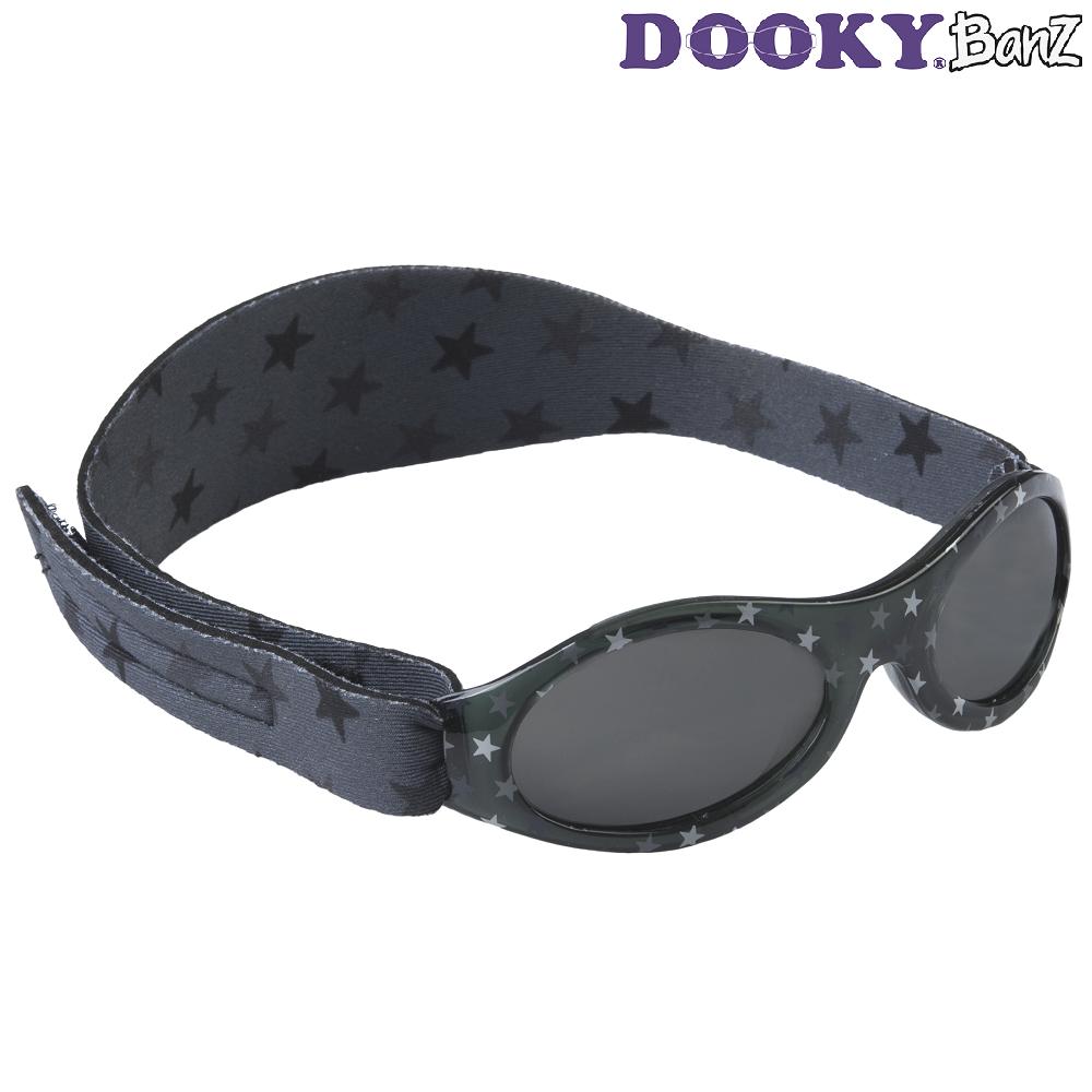 Laste päikeseprillid DookyBanz Grey Stars